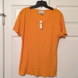 Saturday Sunday by anthropology knit top